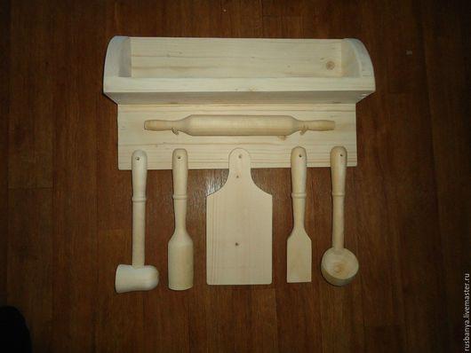 Кухня ручной работы. Ярмарка Мастеров - ручная работа. Купить кухонный набор - заготовка для декупажа(деревянные заготовки). Handmade. Заготовка для декупажа