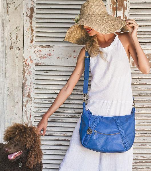 Женские сумки ручной работы. Ярмарка Мастеров - ручная работа. Купить Island+. Стильная женская сумка из натуральной кожи.  5. Handmade.
