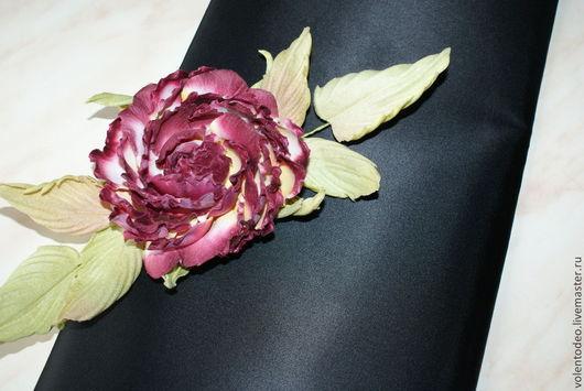 Ткань для цветов ручной работы. Ярмарка Мастеров - ручная работа. Купить Ткани для цветоделия сатин АА черный. Handmade. Черный