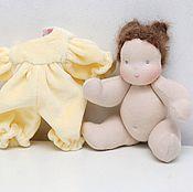 Куклы и игрушки ручной работы. Ярмарка Мастеров - ручная работа Малышка Вальдорфская кукла. Handmade.