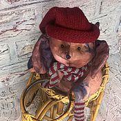 Куклы и игрушки ручной работы. Ярмарка Мастеров - ручная работа Мышь На велосипеде. Handmade.