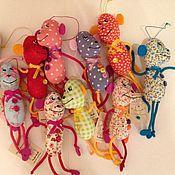 Куклы и игрушки ручной работы. Ярмарка Мастеров - ручная работа Подвесная обезьянка. Handmade.