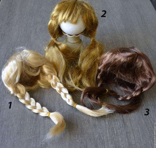 Куклы и игрушки ручной работы. Ярмарка Мастеров - ручная работа. Купить Парик  для куклы. Handmade. Парик для куклы, парик, волосы
