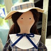 """Куклы и игрушки ручной работы. Ярмарка Мастеров - ручная работа """" В школу..!"""". Handmade."""