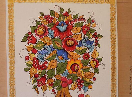 """Этно ручной работы. Ярмарка Мастеров - ручная работа. Купить Панно """"Древо жизни"""". Handmade. Панно, древо жизни"""