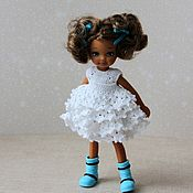 Одежда для кукол ручной работы. Ярмарка Мастеров - ручная работа Платье пышное для Челси. Handmade.