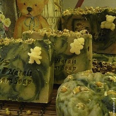 """Косметика ручной работы. Ярмарка Мастеров - ручная работа """"РОМАШКА"""" детское мыло . Натуральное мыло с нуля. Handmade."""
