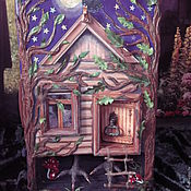Куклы и игрушки handmade. Livemaster - original item Suitcase-the hut on chicken legs. Handmade.