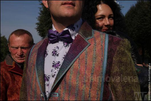 Для мужчин, ручной работы. Ярмарка Мастеров - ручная работа. Купить Пиджак мужской Осенний Бит. Handmade. Мужской пиджак