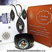 Украшения handmade. Livemaster - original item Jewelry set