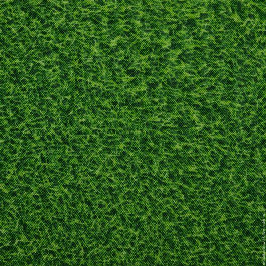 """Шитье ручной работы. Ярмарка Мастеров - ручная работа. Купить Ткань  хлопок  для пэчворка """"Трава"""". Корея. Handmade. Зеленый"""