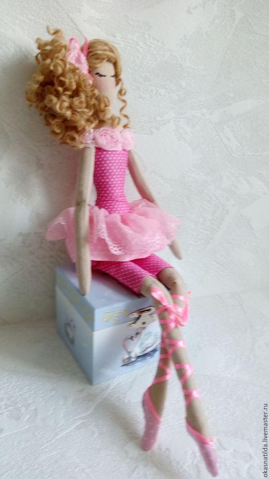 Куклы Тильды ручной работы. Ярмарка Мастеров - ручная работа. Купить Тильда балерина Розовый зефир. Handmade. Розовый, пуанты