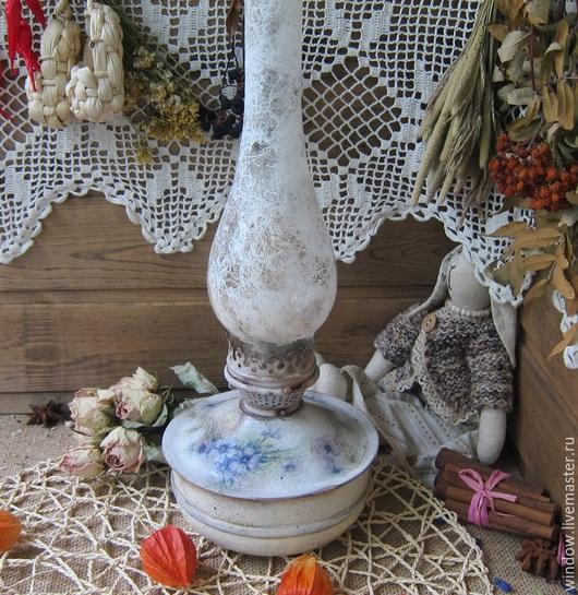 """Освещение ручной работы. Ярмарка Мастеров - ручная работа. Купить Керосиновая лампа""""Уют"""". Handmade. Белый, для дачи"""