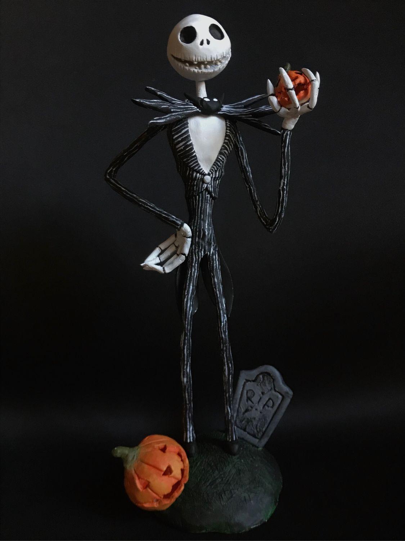 Джек Скеллингтон, Интерьерная кукла, Санкт-Петербург,  Фото №1