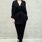Одежда ручной работы. Ярмарка Мастеров - ручная работа Костюм вязаный Black Jack. Handmade.