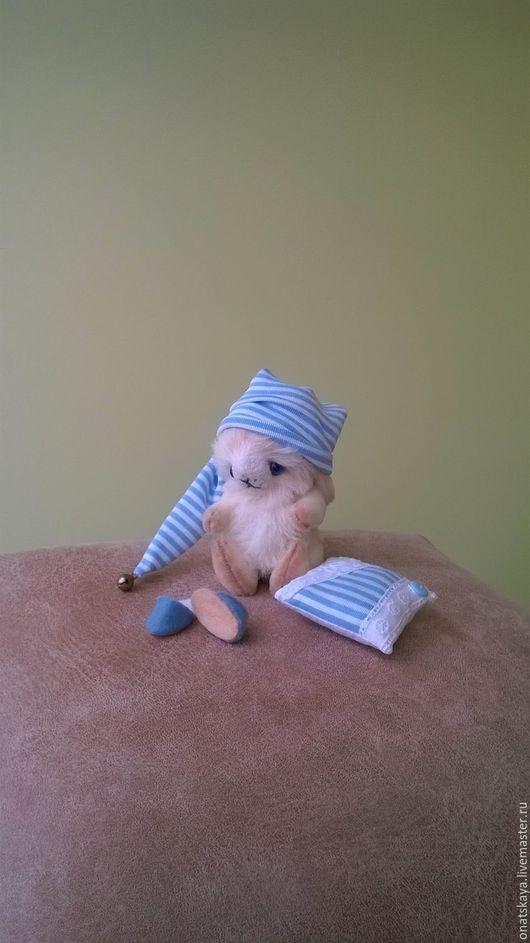 Игрушки животные, ручной работы. Ярмарка Мастеров - ручная работа. Купить Кролик белый. Handmade. Белый, авторская ручная работа