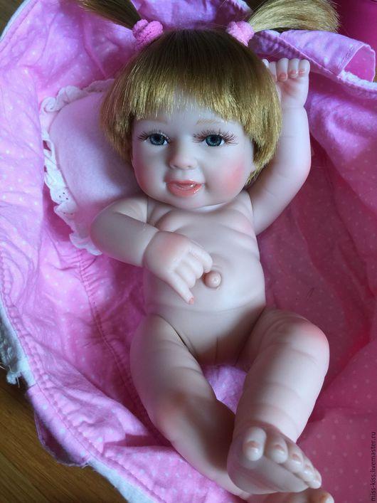 Куклы-младенцы и reborn ручной работы. Ярмарка Мастеров - ручная работа. Купить Младенчик малышка Дашенька с приданным. Handmade.