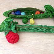Куклы и игрушки ручной работы. Ярмарка Мастеров - ручная работа Горошек-развивашка. Handmade.
