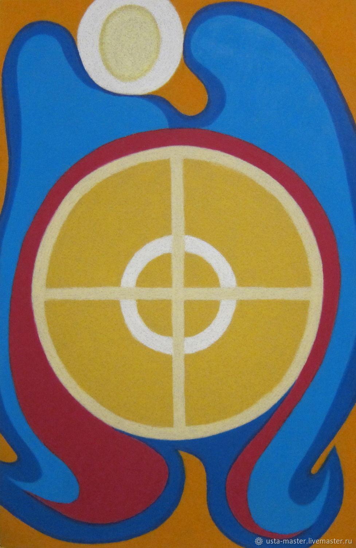 Духовная картина   Архангел Михаил, Картины, Москва,  Фото №1