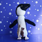 Куклы и игрушки ручной работы. Ярмарка Мастеров - ручная работа Пингвин, 10см СВОЯ ЦЕНА. Handmade.