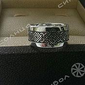 Русский стиль handmade. Livemaster - original item Ring Fern Flower. Handmade.