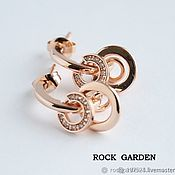 Материалы для творчества handmade. Livemaster - original item Earrings studs (1-86) South Korea. Handmade.