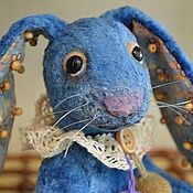 Куклы и игрушки ручной работы. Ярмарка Мастеров - ручная работа Тедди зайка Лютик. Handmade.