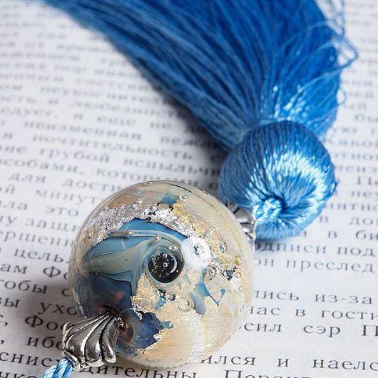 """Закладки для книг ручной работы. Ярмарка Мастеров - ручная работа. Купить Закладка """" Космический океан """". Handmade. Бирюзовый"""