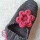 Обувь ручной работы. Тапочки- балетки с цветком.. Розалинка (SalLia). Интернет-магазин Ярмарка Мастеров. Розовый, Тапочки ручной работы