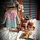 """Одежда для девочек, ручной работы. Ярмарка Мастеров - ручная работа. Купить Кардиган-пальто """"LILU"""". Handmade. Разноцветный, кардиган спицами"""