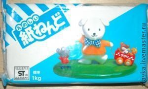 Куклы и игрушки ручной работы. Ярмарка Мастеров - ручная работа. Купить Paperсlay PADICO (Паперклей) 1 кг.. Handmade. Белый