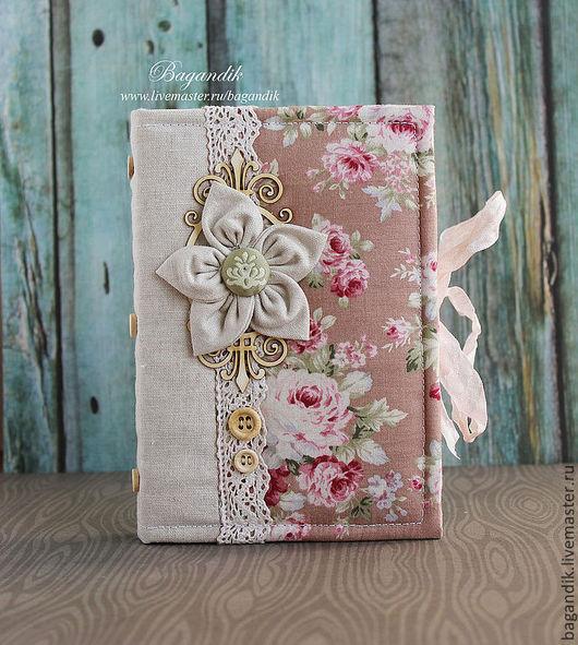 """Блокноты ручной работы. Ярмарка Мастеров - ручная работа. Купить Блокнот """"Цветочный"""". Handmade. Блокнот с нуля, подарок для женщины"""