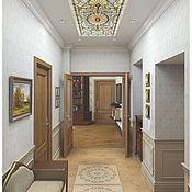 Дизайн и реклама ручной работы. Ярмарка Мастеров - ручная работа Дизайн четырехкомнатной квартиры в классическом стиле. Handmade.