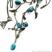 Украшения handmade. Livemaster - original item Chain: Secret signs of the Universe. Handmade.