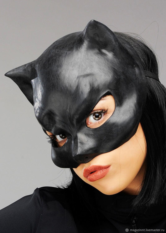 Как сделать маску женщины кошки фото 756