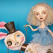 """Куклы и игрушки ручной работы. Ярмарка Мастеров - ручная работа """"Куда изволите, г-жа Алиса?"""". Handmade."""