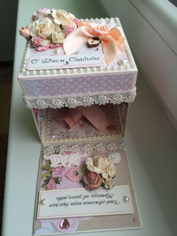 Денежная коробка на свадьбу своими руками 34