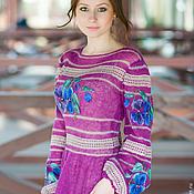 """Одежда ручной работы. Ярмарка Мастеров - ручная работа Авторское платье """"Anete"""". Handmade."""