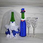 Свадебный салон ручной работы. Ярмарка Мастеров - ручная работа Бокалы с кристаллами Swarovski. Handmade.
