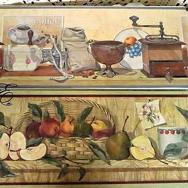 Картины и панно ручной работы. Ярмарка Мастеров - ручная работа Картина декупаж ,,Кухня,, комплект, диптих. Handmade.