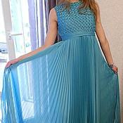 Платья ручной работы. Ярмарка Мастеров - ручная работа платье-гофре. Handmade.