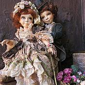 Куклы и игрушки ручной работы. Ярмарка Мастеров - ручная работа Марианна и Филипп.. Handmade.