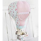 Для дома и интерьера ручной работы. Ярмарка Мастеров - ручная работа Воздушный шар для девочки. Handmade.