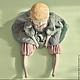 Коллекционные куклы ручной работы. Дэзи. Штуковины – Юлия Краева-Кенкадзе. Ярмарка Мастеров. Кукла будуарная, подарок женщине