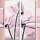 """Картины цветов ручной работы. Ярмарка Мастеров - ручная работа. Купить """" Цветы в нежно-пастельных тонах"""". Handmade. Картина"""