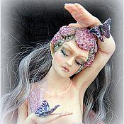 Куклы и игрушки ручной работы. Ярмарка Мастеров - ручная работа Авторская кукла на стену фея Зана. Handmade.