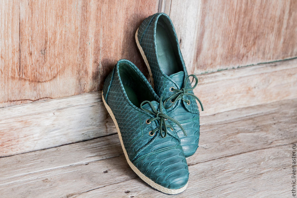 Shoes from Python . Leather shoes, Boots, Chelyabinsk,  Фото №1
