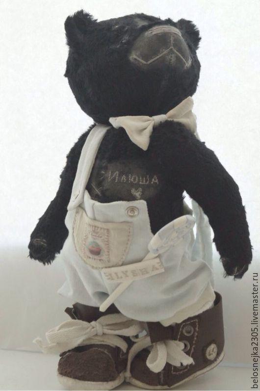Мишки Тедди ручной работы. Ярмарка Мастеров - ручная работа. Купить мишка тедди Илюша. Handmade. Мишка, леденец, шплинты