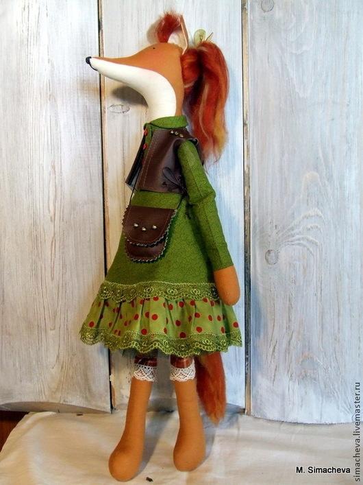 Куклы Тильды ручной работы. Ярмарка Мастеров - ручная работа. Купить Лисичка-сестричка. Handmade. Лиса, текстильная кукла