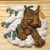 Картины и панно handmade. Livemaster - original item Lynx. Handmade.